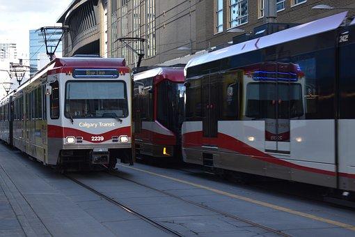 C-train, Train, Train Station, Transport