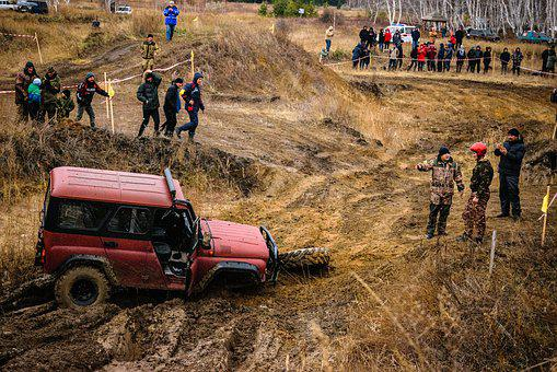 Dirt, Car, Jeep, Vehicle, Race, Action, Speed, Wheel