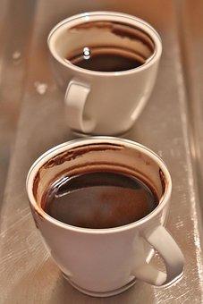Coffee Time, Light, Background, Turkish Coffee, Brown