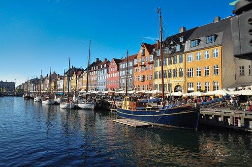 Denmark, Danish, Copenhagen, New Haven, Tourist, City