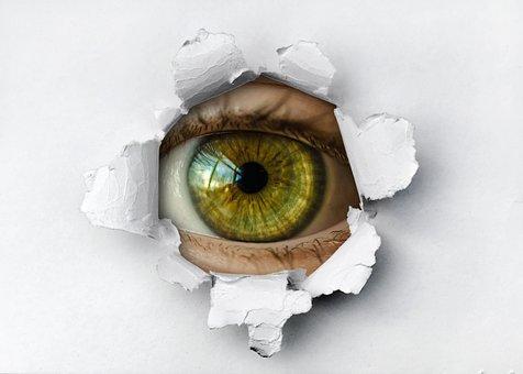 Spying, Eye, Spy, Surveillance, Privacy, Monitoring