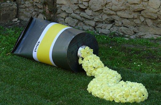 Girona, Spain, City, Flowers, Flower Festival