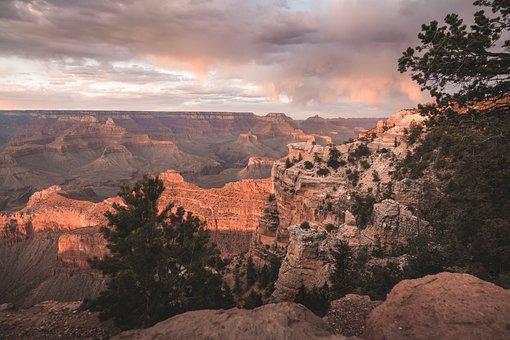 Arizona, Usa, America, United, Country, Grandcanyon