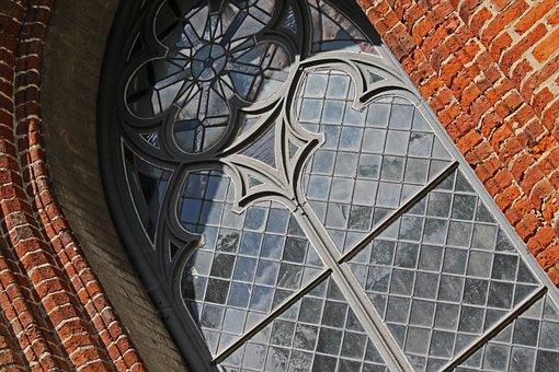 Church Window, Gristower Church, Gristow