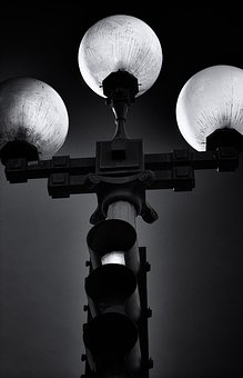 Street Lamp, Stoplight, Traffic, Safety, Guidance