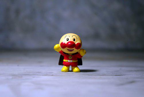 Red Super Hero, Small, Cute, Action, Star, Hero, Red