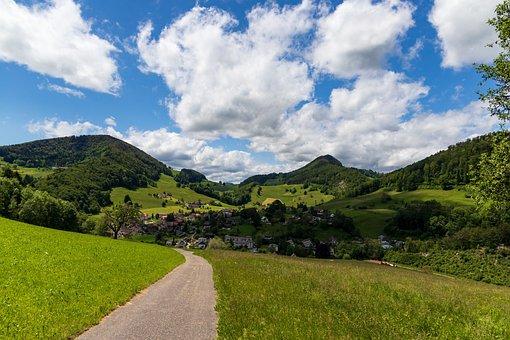 Langenbruck, Hiking, Switzerland, Jura, Basel-land