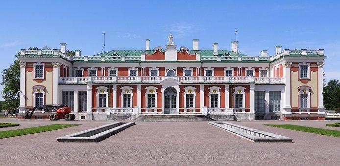 Tallinn, Kadriorg, Estonia, Park, Europe, Colors
