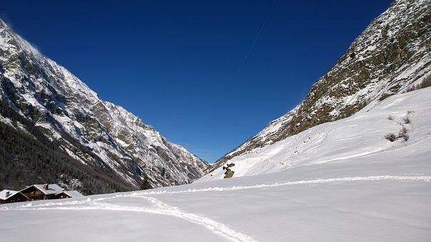 Mountain, Snow, Landscape, Winter, Nature