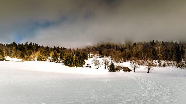 Landscape, Winter, Nature, Mountain, Snow, Snowy