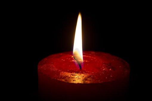 Candle, Night, Mood, Still, Silence