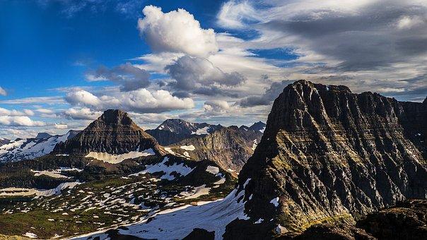 Peaks, Summit, Rockies, High Country, Wild, Peak