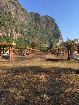Myanmar, Temple, Burma, Architecture, Buddhist