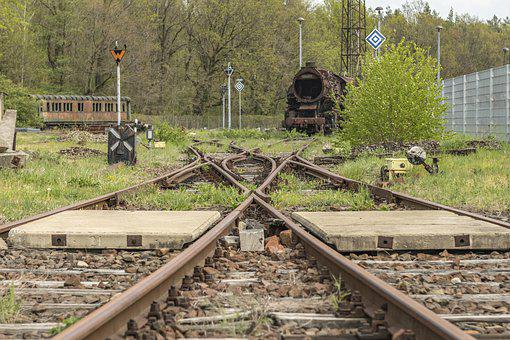 Gleise, Railway, Rails, Transport, Train