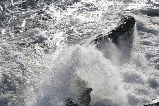 Sea, Sea Storm, Recco, Liguria, Genoa, Waves, Italy