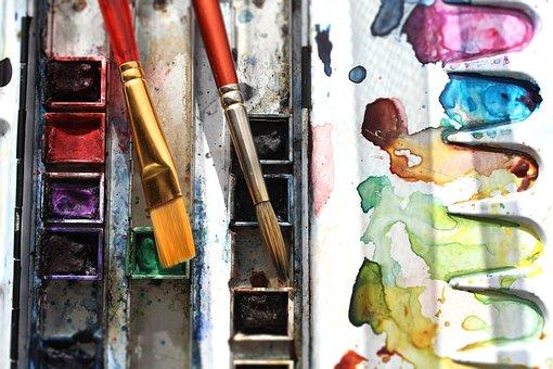 Watercolor, Paint, Color, Creativity, Colors, Brush