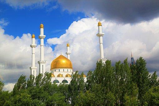 Cami, The Minarets, Islam, City, Religion, Architecture