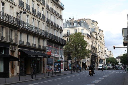 Paris, Street View, Shop, Classical Architecture