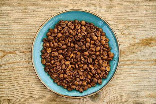 Core, Design, Blue, One, Brown, Latte, Coffee, Foam