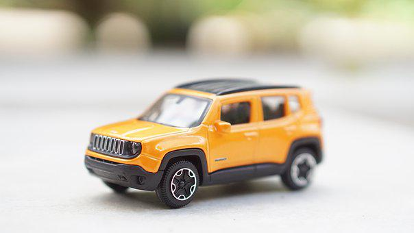 Toy, Jeep, Yellow, Hobby, Car, Park