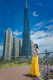 Landmark 81, Lovely, Dress, People, Nice, Young, Page