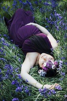 Maternity, Mom, Baby, Blue Bells, Pregnant, Pregnancy