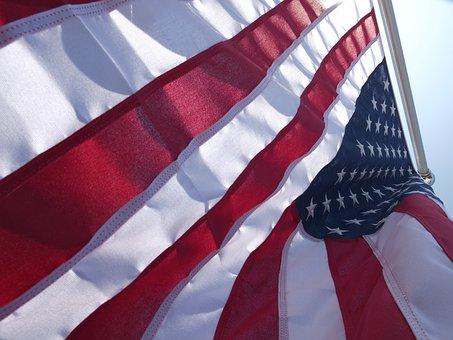 America, American Flag, Stripes, National, Patriotic
