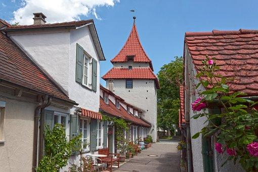 Seelturm, Ulm, Cottage, Historic Center, Architecture