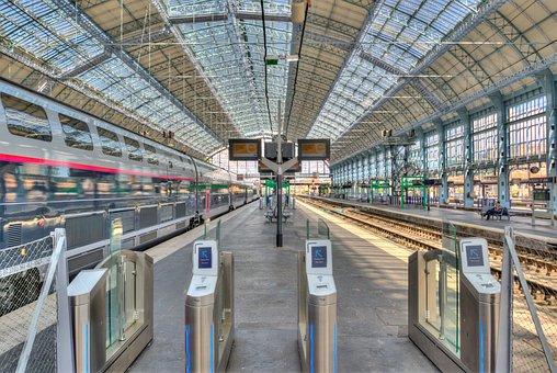Bordeaux, Station, Train, Transport, France, Travel