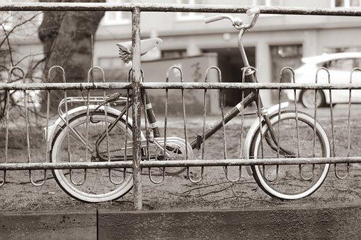 Bike, Art, Metal, City, Road, Street, Wheels, Tourism
