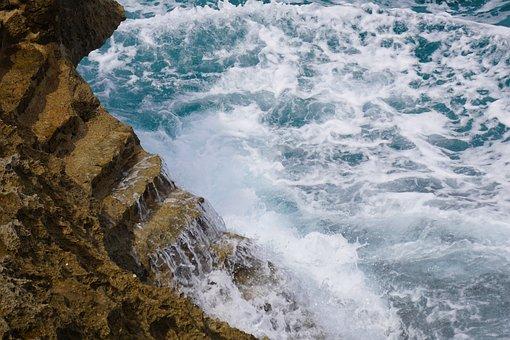 Sea, Surf, Wave, Water, Vacations, Gradually, Coast