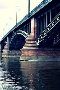 Bridge, Architecture, City, River, Landmark, Water
