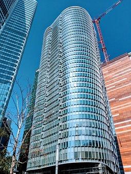 Skyscrapper, Building, Metropolis, Buildings