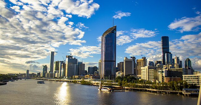 Brisbane, Skyline, Buildings, Cityscape, Queensland