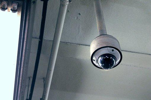 Camera, Security, Ceiling, Surveillance, Privacy, Dome