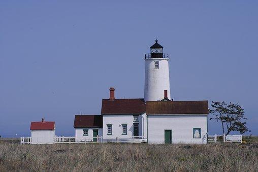 Lighthouse, Ocean, Maritime, Coast, Sea, Tower, Beacon