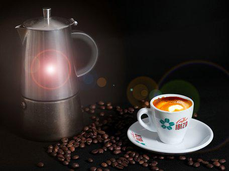 Coffee, Coffee Cup, Coffee Beans, Cafe, Drink, Crema