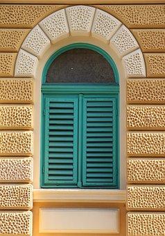 Croatia, Rijeka, Town, Streetview, Colorful, Window