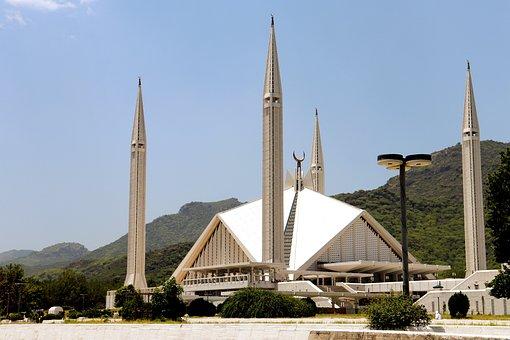Faisal Mosque, Mosque, Pakistan, Islamabad, Masjid