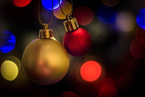 Christmas, Light, Glitter, Decoration, Lights, Xmas