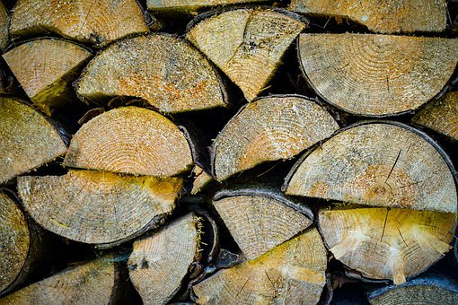 Pile Of Wood, Firewood, Woods, Log, Hacked, Sawn