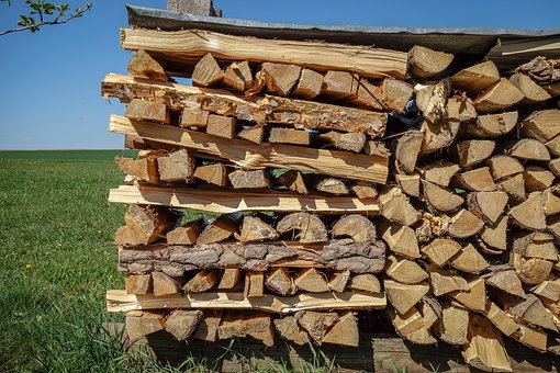 Pile Of Wood, Firewood, Woods, Log, Hacked, Sawn