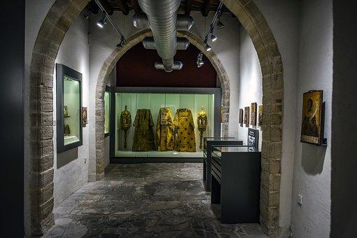Museum, Interior, Monastery, Architecture, Orthodox