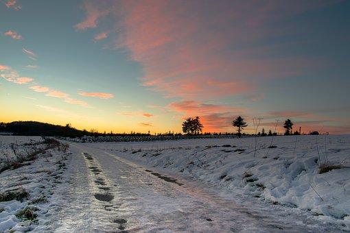 Snow, Ice, Winter, Snowfall, Cold, Road