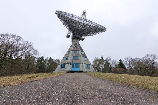 Radio Telescope, Parabolic, Seti, Research, Satellite