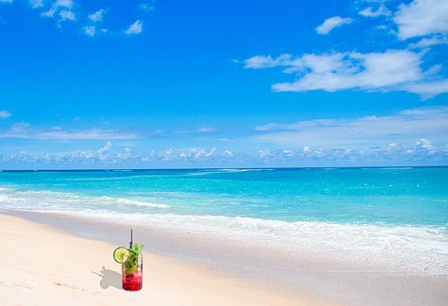 Holidays, Beach, Tropic, Cocktail, Vacation, Exotic