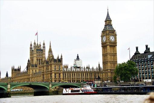 London, Westminster, England, Landmark, Uk, Parliament