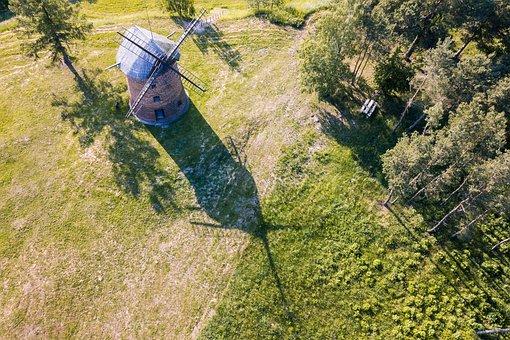 Windmill, Old Windmill, The Dutchman, Village