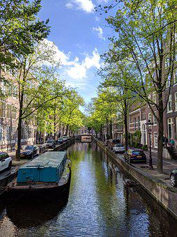 Amsterdam, Canal, Netherlands, Holland, Water, City