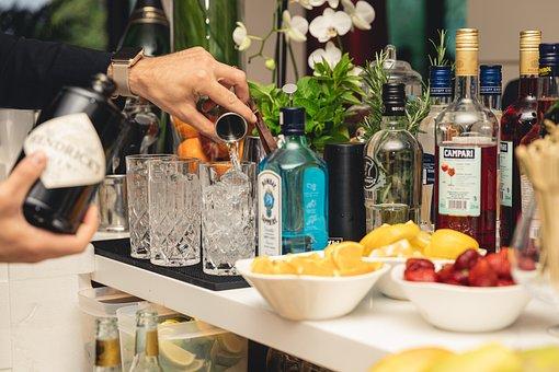 Drink, Cocktail, Gin, Barman, Bar, Alcohol